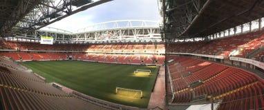 Otkritie竞技场Spartak体育场在莫斯科 免版税库存图片