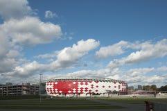 Otkrytiye竞技场, Spartak橄榄球俱乐部体育场 库存照片