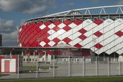 Otkrytiye竞技场, Spartak橄榄球俱乐部体育场 免版税库存照片