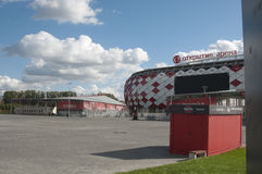 Otkrytiye arena, Spartak futbolu klubu stadium Obraz Stock