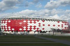 Otkrytiye arena, Spartak futbolu klubu stadium Zdjęcie Stock
