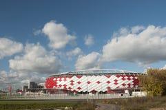 Otkrytiye arena, Spartak futbolu klubu stadium Obrazy Royalty Free