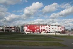 Otkrytiye arena, Spartak futbolu klubu stadium Zdjęcia Royalty Free