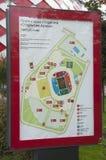 Otkrytiye arena, Spartak futbolu klubu stadium Plan stado Zdjęcia Stock