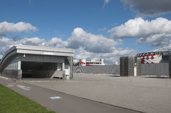Otkrytiye arena, Spartak futbolu klubu stadium, stacja metru Obrazy Stock