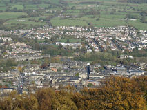 Otley from the Chevin stock photography