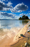 Otmochow Lake, Poland Stock Photos