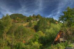 Otoño cerca del lago Zaovine, Serbia occidental Foto de archivo libre de regalías