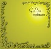 Otoño de oro Foto de archivo libre de regalías