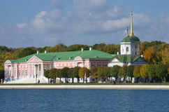 Otoño de oro en Kuskovo Imagenes de archivo