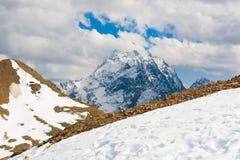 Otoño del día de la montaña Fotos de archivo