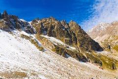 Otoño del día de la montaña Imagen de archivo libre de regalías
