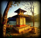 Otoño del infinito nepal Imagen de archivo