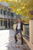 Otoño elegante en Atenas Fotos de archivo