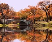 Otoño en Boston Foto de archivo libre de regalías
