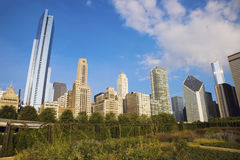 Otoño en Chicago fotos de archivo