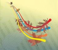 Otoño en color Stock de ilustración