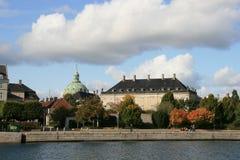 Otoño en Copenhague Foto de archivo libre de regalías
