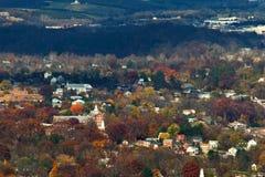 Otoño en el valle de Shenandoah Imágenes de archivo libres de regalías