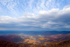 Otoño en el valle de Shenandoah Foto de archivo libre de regalías