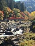 Otoño en Japón Fotos de archivo libres de regalías