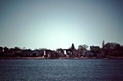 Otoño en Karlskrona, Suecia. Fotos de archivo