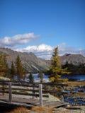 Otoño en la montaña fotografía de archivo libre de regalías