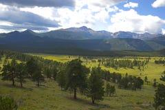 Otoño en las montañas Imágenes de archivo libres de regalías