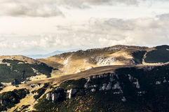 Otoño en las montañas Fotografía de archivo