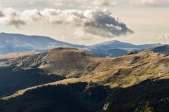 Otoño en las montañas Foto de archivo libre de regalías