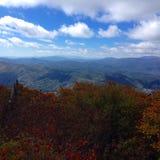 Otoño en las montañas Fotografía de archivo libre de regalías