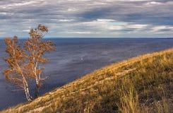 Otoño en las montañas de Zhiguli Fotos de archivo libres de regalías