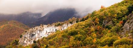 Otoño en las montañas, Italia Fotos de archivo