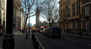 Otoño en Londres Fotos de archivo