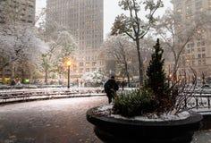Otoño en Madison Square Park en NY, los E.E.U.U. imagen de archivo libre de regalías