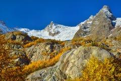 Otoño en montañas Foto de archivo libre de regalías