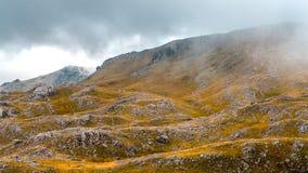 Otoño en montañas bosnios Fotografía de archivo