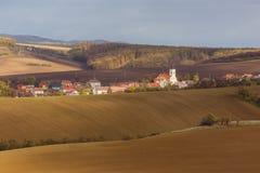 Otoño en Moravia Imagen de archivo