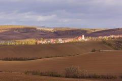 Otoño en Moravia Fotos de archivo libres de regalías