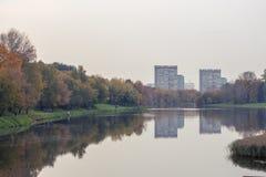 Otoño en Moscú Foto de archivo libre de regalías
