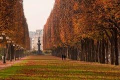Otoño en París Fotos de archivo libres de regalías