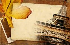 Otoño en París ilustración del vector