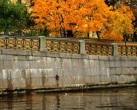 Otoño en St Petersburg Foto de archivo libre de regalías