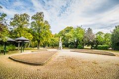 Otoño en Stadtpark - parque de la ciudad - Viena imágenes de archivo libres de regalías