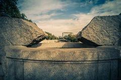 Otoño en Stadtpark - parque de la ciudad - Viena foto de archivo libre de regalías