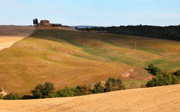 Otoño en Toscana Fotos de archivo