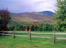 Otoño en Vermont Foto de archivo libre de regalías