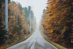 Otoño polaco Imagenes de archivo