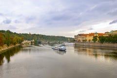 Otoño Praga Foto de archivo libre de regalías