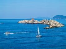 Otocic Grebeni island, Dubrovnik Royalty Free Stock Photo